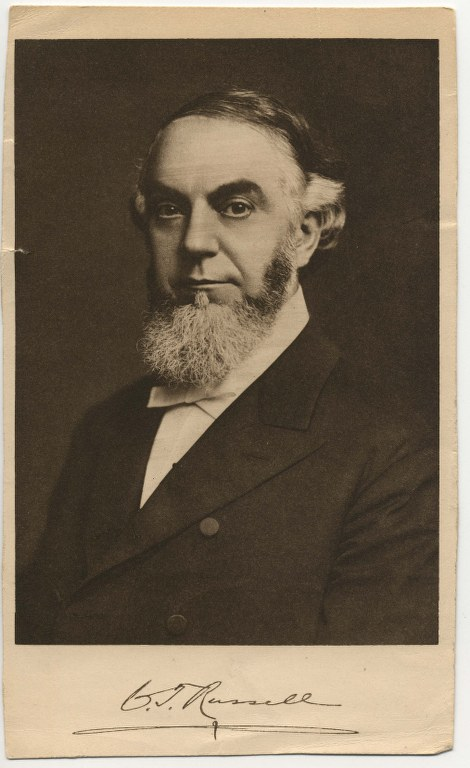 14- 1906 - Pastor Russell -54 года