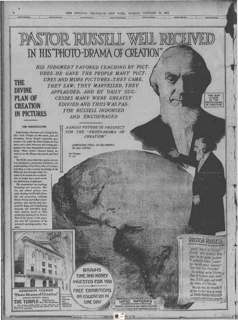 1g-Evening Telegram, 18 Janvier 1914
