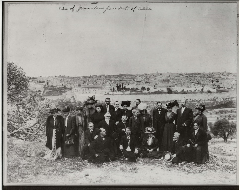 4g1 - 1910 - April 24 - On The Mount Of Olives 967x768