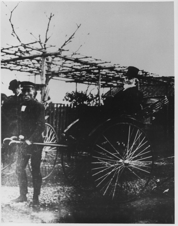 6j - 1911, December 31 - Tokyo, Japan-with Rickshaw Driver 604x768