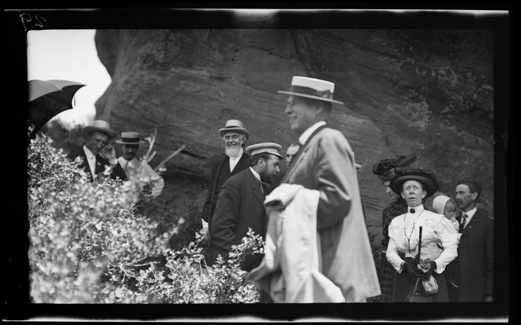 6j - 1911, June 18 - On A Trail At Park Of The Red Rocks 1024x639