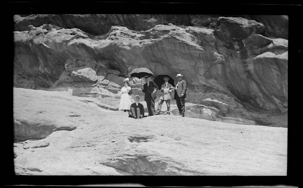6j - 1911, June 18 - Resting At Park Of The Red Rocks 1024x634