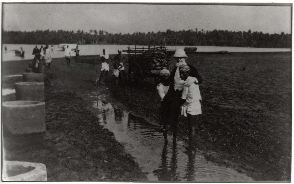 6j - 1912, February 1 - Carried Onto Leper Island - Columbo, Ceylon 1024x643