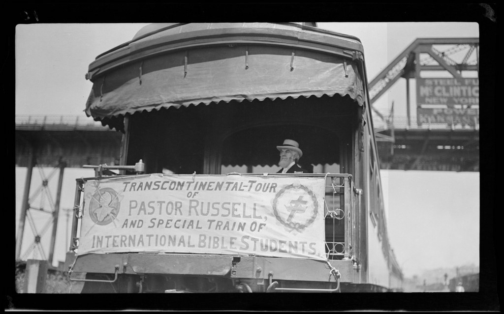 I13 - 1911, June 13-14 - Awaiting Departure, Hat On - Long Shot - Kansas City, MO 1024x639