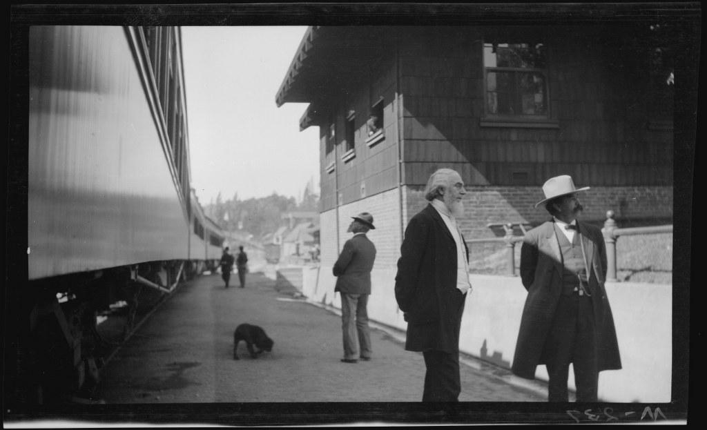 I22 - 1911, June-July - At A Train Depot 1024x623