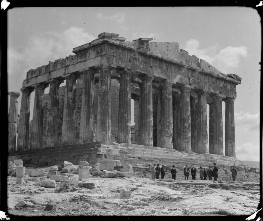 I49 - 1912, March 8 - Parthenon - Athens, Greece 914x768