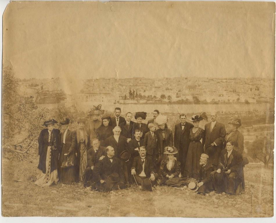 I53 - 1910 - April 24 - On The Mount Of Olives - Scanned From Sr Rose Hirsh\'s Original Photo 950x768