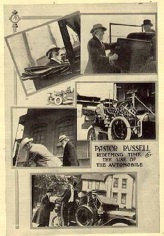 Russell And The Automobile