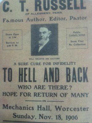 В ад и обратно. Проповедь бр. Рассела