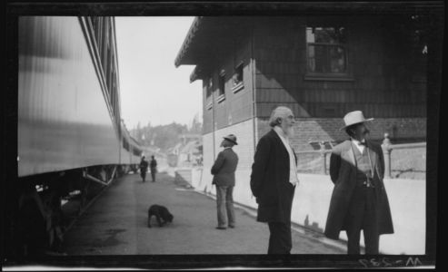 6t - 1911, June-July - At A Train Depot 1024x623